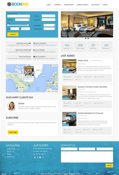 joomla blank template 27 best real estate templates by ordasoft images on