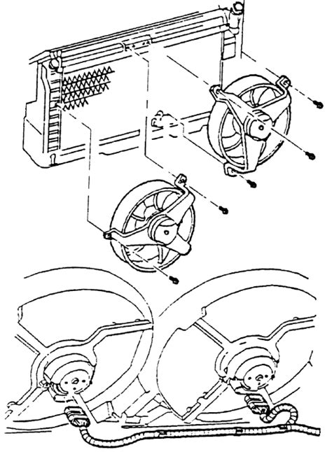 how to install cooling fan in a 2000 mazda mpv repair guides engine fan electric engine fan
