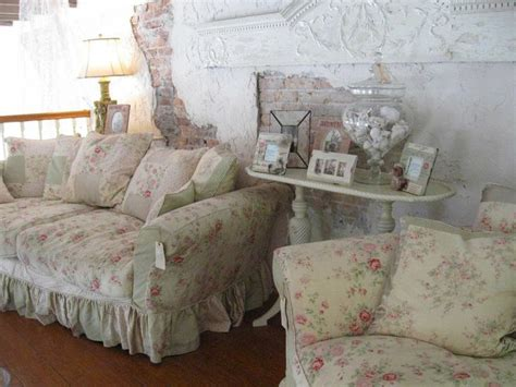28 best simply shabby chic floral jacquard sofa
