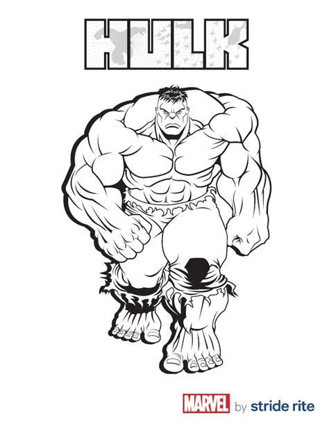 hulk coloring pages pdf 12 hulk coloring pages for kids print color craft