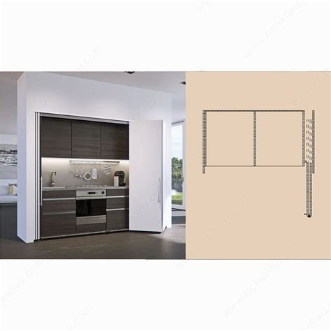 Cupboard Sliding Door Systems hawa folding concepta 25 bifold slide in pocket richelieu hardware