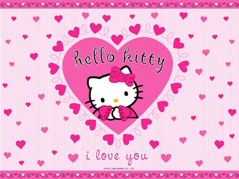 hello kitty valentine wallpaper holidays backgrounds twitter facebook backgrounds