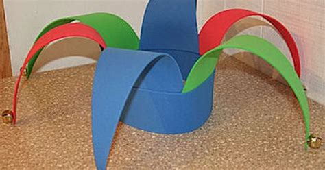 How To Make A Jester Hat Out Of Paper - how to make a jester hat out of craft foam crafts