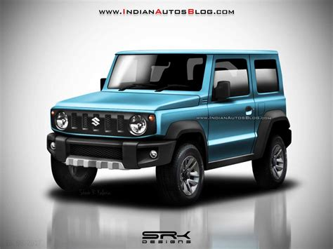 suzuki jimny new generation all new suzuki jimny rendered in colors