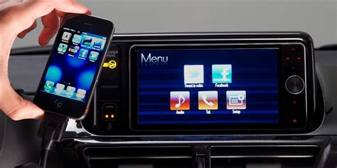 Toyota Touch Apps World Toyota Launches Infotainment System With