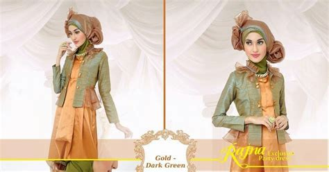 Gamis Pesta Rajna galeri azalia toko baju busana muslim modern dan