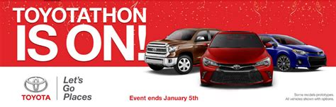Toyota Thon 2014 Toyotathon Sales And Incentives Enfield Ct