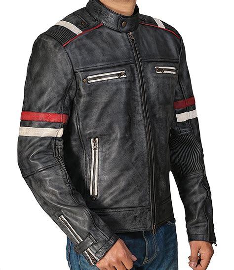 best mens leather motorcycle jacket leather jackets for men amazon best seller biker jacket