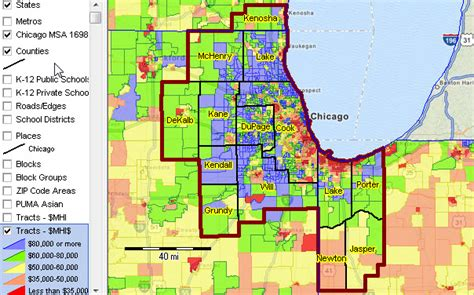 chicago county map chicago illinois population rachael edwards