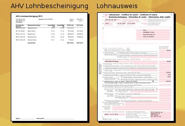 Muster Lohnabrechnung Schweiz Stundenlohn pesaris die lohnbuchhaltung zum erstellen der