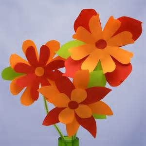 Making Flowers by Pics Photos How To Make Paper Flowers