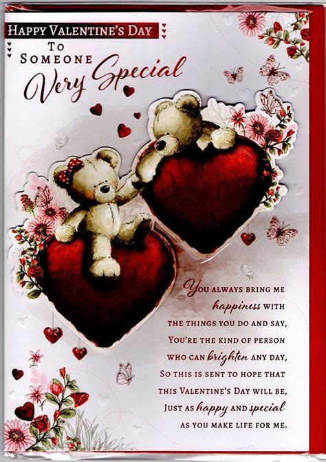Valentines Day Someone Special Card ? Bear Couple