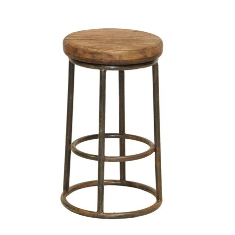 Wood Counter Stools by Reclaimed Wood Counter Stool Cokas Diko Home Furnishings