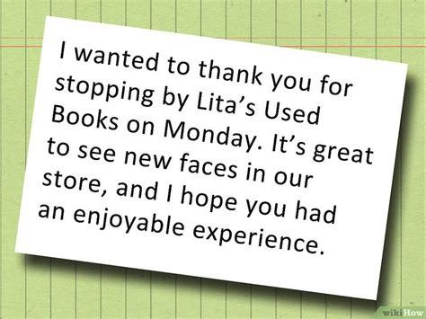 appreciation letter to step como escrever uma carta de agradecimento ao cliente