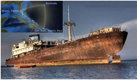 schip bermuda driehoek bermuda triangle ship reappears 90 years after going missing