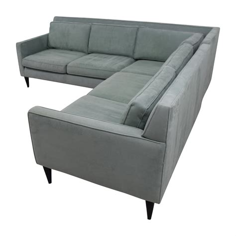 rochelle sofa crate and barrel 74 off crate barrel crate barrel rochelle teal
