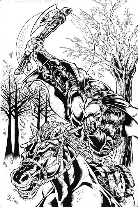 headless horseman by slyaguilar on deviantart