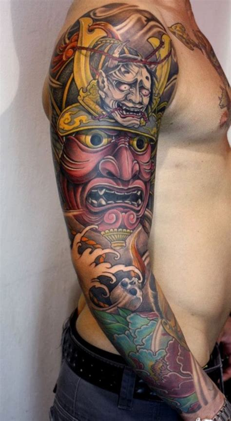 50 Cool Japanese Sleeve Tattoos For Awesomeness Awesome Sleeve Tattoos