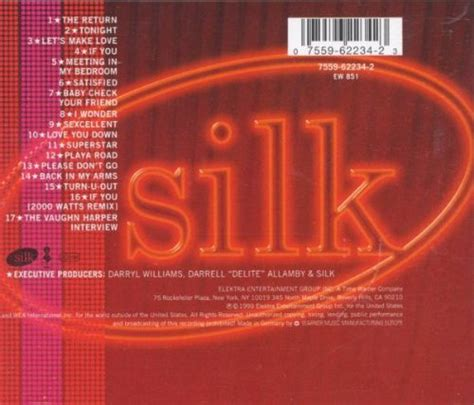 silk meeting in my bedroom album silk album 171 tonight 187
