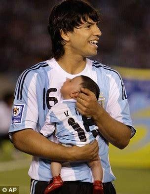 benjamin aguero maradona is united s destroyer lionel messi the first new maradona