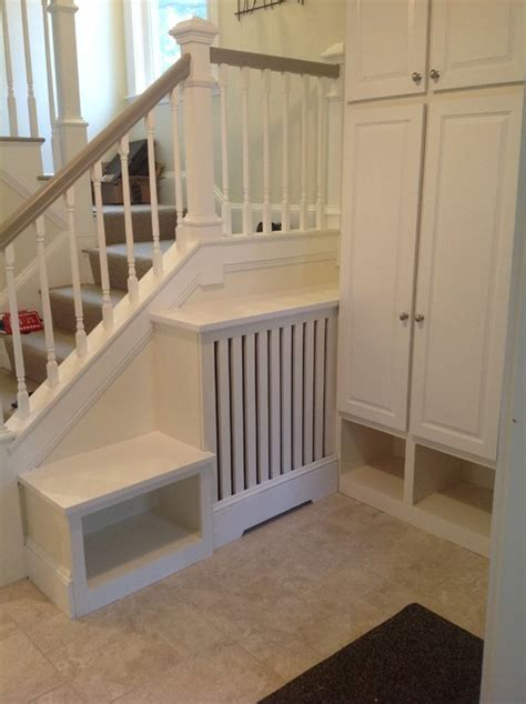 radiator bench cover entryway closets radiator cover and bench