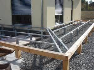 aufbau terrasse planung aufbau und fertigstellung einer l terrasse