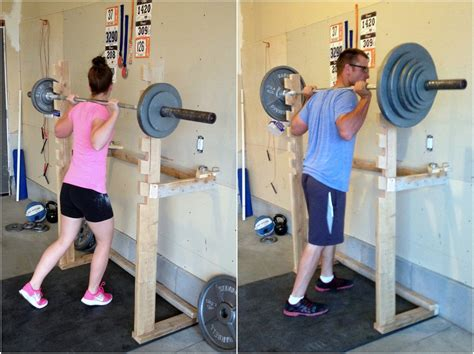 simply diy crossfit garage part 2 fitness