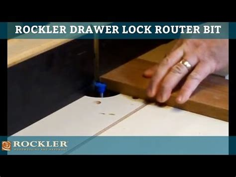 drawer lock joint router table 1 drawer lock router bit rockler woodworking and hardware