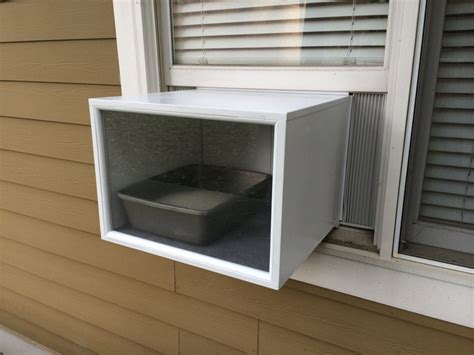 window box for cats katio a litter box for cats that fits in a window like an