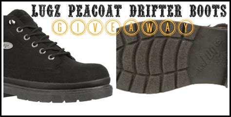 boots giveaway s lugz peacoat drifter boots giveaway my dairyfree