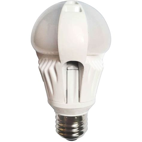 Led Light Bulbs Lowes Shop Utilitech Pro 7 Watt 40w Equivalent Medium Base E 26 Cool White Dimmable Decorative Led