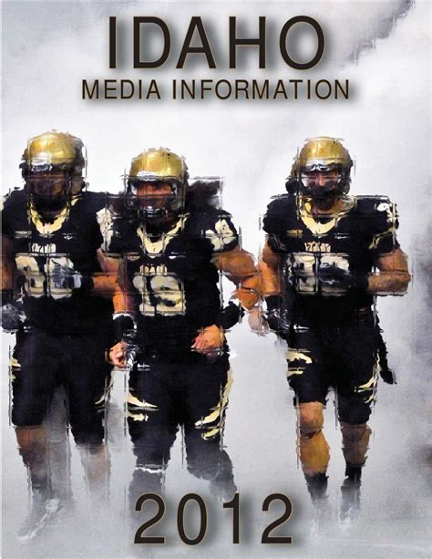 Idaho State Records Issuu 2012 Idaho Football Yearbook By Becky Paull