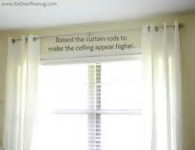 curtain reveal how to hang curtain rods its overflowing