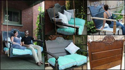 door porch swing 22 diy garden swings you can bring to life almost