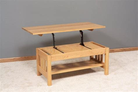 lift top coffee table plans diywoodtableplans