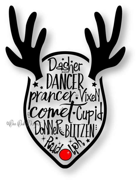 Reindeer SVG File PDF / dxf / jpg / png / eps / by