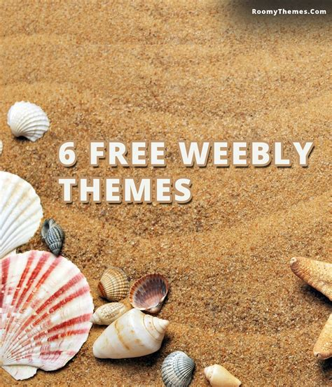 free weebly themes and templates 6 free weebly templates to roomy themes