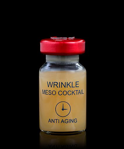 Meso Detox Pills by Mesotherapy Treatment With Wrinkle Meso Cocktail 174 5x8ml