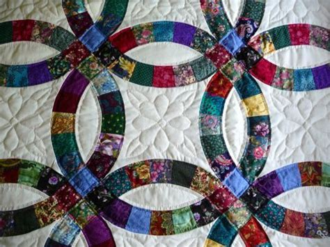 17 best images about amish wedding ring quilts on