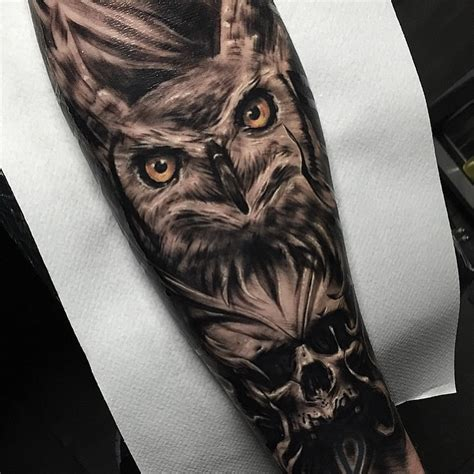 owl and skull tattoo meaning owl tattoos are not for everyone best ideas