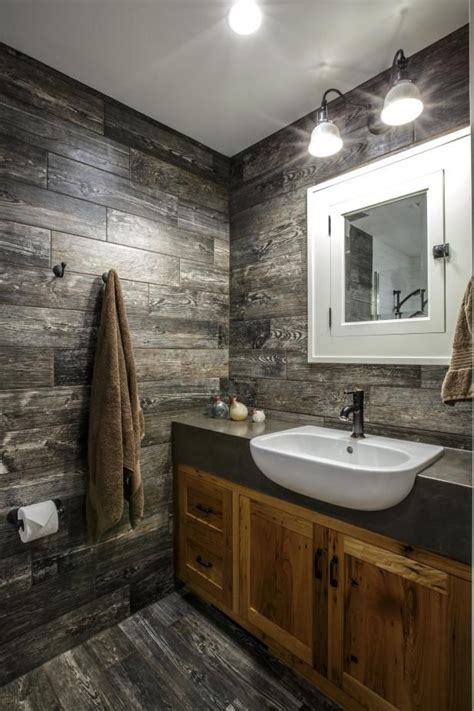 Modern Rustic Bathroom Ideas Best 25 Rustic Modern Bathrooms Ideas On