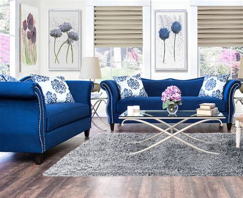 royal blue sofa set royal blue living room contemporary decorating ideas livingetc