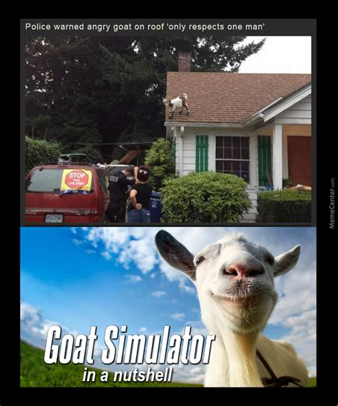 Meme Simulator - goat simulator in a nutshell by getmahbread meme center