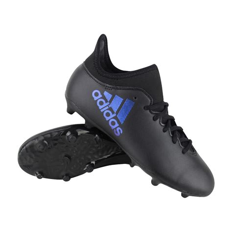 adidas x 17 3 adidas x 17 3 fg voetbalschoenen jongens zwart zwart