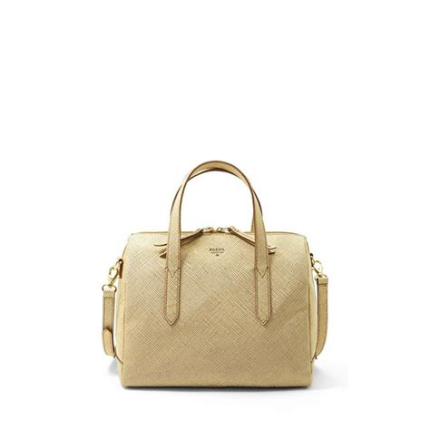 Fossil Sydney Satchel Black Gold fossil sydney satchel zb5486 fossil 174 doesn t to be this bag just looking for a well
