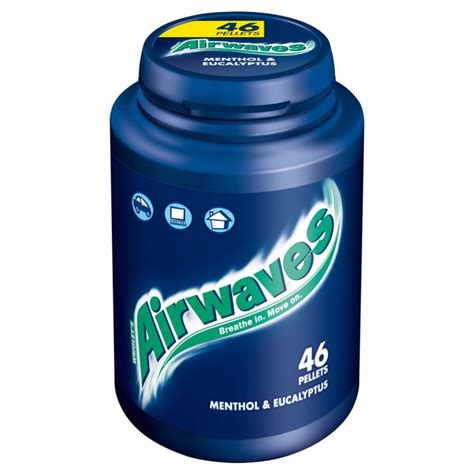 wrigley plymouth morrisons wrigley s airwaves chewing gum 46 per pack