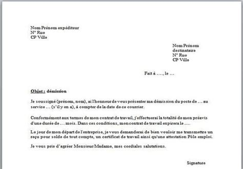 Exemple De Lettre De Demission En Pdf T 233 L 233 Charger Mod 232 Le De Lettre De D 233 Mission Pour Windows Freeware