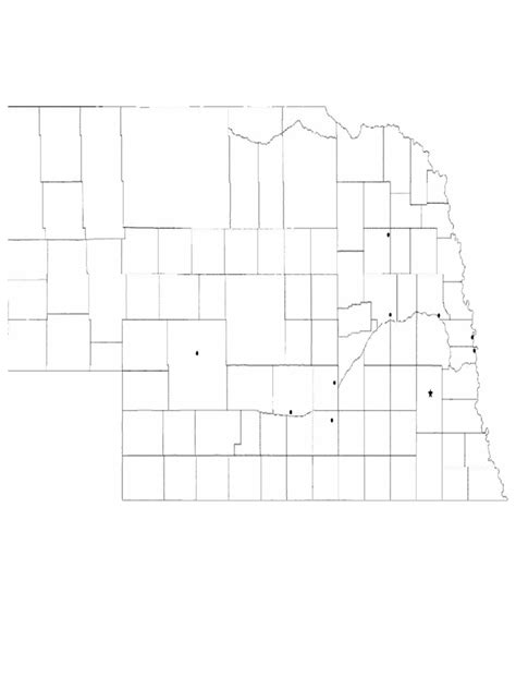 blank city map template nebraska map template 8 free templates in pdf word excel