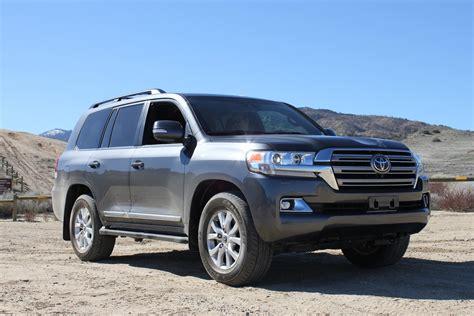 Toyota Land Cruiser Msrp Review 2016 Toyota Land Cruiser Shrugs Pretension