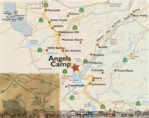 Map of angels camp destination angels camp